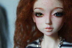 Alternative wig (rykaan) Tags: red ball asian twins doll twin dreaming curly mohair bjd freckles abjd airi jointed balljointeddoll ddoll dreamingdoll