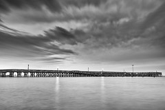 lost in the archives (dK.i photography) Tags: longexposure blackandwhite water clouds pier movement maryland solidarity northbeach contrasts cloudscape chesapeakebay waterscape throwbackthursday chesapeakewatershed canon5dmkii singhrayrgnd ef1740f40lusm march2012 betterinmono