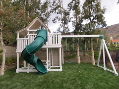 IMG_0906 (Swing Set Solutions) Tags: set play swings vinyl slide structure swing solutions playset polyvinyl