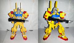 hyaku shiki prototype build (Commander626) Tags: robot lego hard suit shiki prototype build mech hyaku
