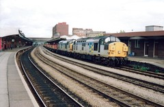 Newport, 12th August 1992 (elkemasa) Tags: newport 1992 class37