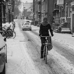 Amsterdam, Reguliersgracht (Bart van Dijk (...)) Tags: city urban bw woman snow netherlands monochrome amsterdam bicycle blackwhite zwartwit sneeuw nederland citylife streetphotography squareformat bicyclist dailylife vrouw stad fiets zw weer fietser reguliersgracht stadsarchief monochroom peopleinthecity straatfotografie peopleinthestreets straatnamen dagelijksleven mensenopstraat stadsleven peopleinamsterdam stadsarchiefamsterdam canoneos7d mensenindestad vierkantformaat 11format bartvandijk breeblebox menseninamsterdam cityarchivesamsterdam