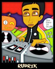 Rubrik Sticker (Mr. MumbleJinx) Tags: seattle usa streetart art stickerart michigan stickers rubrik mumblejinx jakegalm