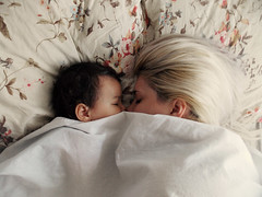 dream on (Paola_breathe) Tags: baby cute love mom blonde
