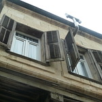 """Shutters in old town Tarsus <a style=""""margin-left:10px; font-size:0.8em;"""" href=""""http://www.flickr.com/photos/59134591@N00/8416761888/"""" target=""""_blank"""">@flickr</a>"""