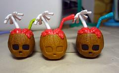 MH - Skullconuts WIP (shannanigan1) Tags: skull mugs coconut drinks tiki monsterhigh skullshores