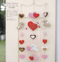 Felt Bear Cupid Love Angels Valentine Hanging Mobile Mascots Plush Stuffed Decoration Felted Sewing Crafts pdf E PATTERN in Japanese (DollyPaws) Tags: bear love animal mobile toy japanese stuffed pattern sewing crafts felt valentine plush mascot plushies angels hanging easy cupid deco epattern