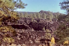 lava flow (h willome) Tags: 2005 arizona sunsetcrater sunsetcraternationalmonument
