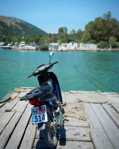 On the #ferry to #butrint
