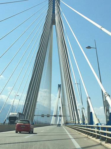 Crossing the Rio-Antirrio Bridge