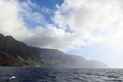 this place has a lot of mana (1600 Squirrels) Tags: 1600squirrels photo 5dii lenstagged canon24105f4 landscape seascape cloud cliff napali coast pacific ocean kauai kauaicounty hawaii usa
