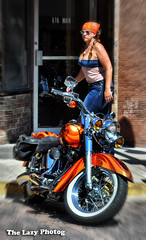 Aug 4 2013 - Two beauties in Deadwood (lazy_photog) Tags: lazy photog elliott photography worland wyoming deadwood south dakota sturgis motorcycle rally motorcycles bikers