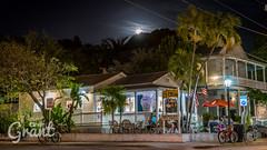 Ice Cream After Dark (Grant Wolz) Tags: street summer moon icecream tropical tropics latenight keywest afterdark flamingocrossing