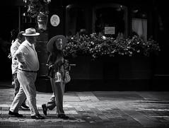 Neal's Street (V Photography and Art) Tags: candin street likeamoviestar people bw pub flowers windiws summer london heat sunshine