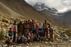 Kaiser's Polo Ground: Group shot (Shahid Durrani) Tags: biafo glacier karakorams gilgit baltistan pakistan