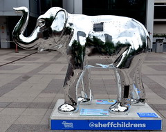 23 steel elephant (Harry Halibut) Tags: herdofsheffield elephant artwork sheffield childrens hospital fund raiser herd231607243632 steelelephant tom clayton artist sponsor bbraun hallam university owen building forecourt shu 2016©andrewpettigrew allrightsreserved imagesofsheffield images sheffieldarchitecture sheffieldbuildings colourbysoftwarelaziness south yorkshire publicartinsheffield public art streetart graffiti murals charity