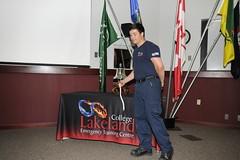 Blended learning platoon grad (Lakeland College) Tags: lakelandcollege emergen etc firefightertraining blended learning