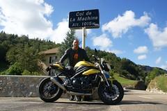 Vacances 2016... passage par le Col de la Machine... (Cdric JANODET) Tags: vercors triumph speedtriple 1050 coldecarri coldelamachine combelaval