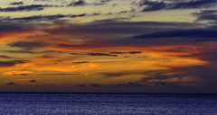 Twilight Time at the Gulf (C. P. Ewing) Tags: gulf colorful sunset twilight sun sundown ocean water nature mexico