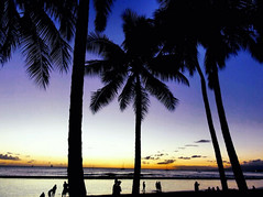 Waikiki Beach (Georginaphilphil) Tags: hawaii oahu beach honolulu waikikibeach