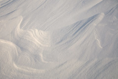 Snow Drift (suerob) Tags: snow drift wind winter season patterns sunlight shadows texture background glisten cold dry powder iceland travel mvatn