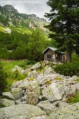 Бунгало / Bungalow (AVasilev) Tags: бунгало хижа мальовица рила планина скали bungalow malyovitsa hut rila mountain rocks