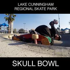20160824 Skull Bowl lip 2 (milesgehm) Tags: lcrsp cunningham skullbowl skate skateboard carve grind sanjose ca usa