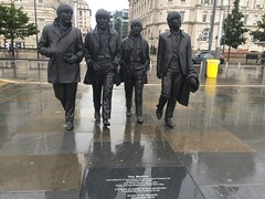 Liverpool trip (Elysia in Wonderland) Tags: beatles statue liverpool albert dock paul mccartney ringo starr george harrison john lennon
