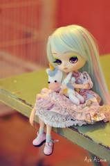 Cotton o^____^o (Au Aizawa) Tags: dal sanrio cinnamoroll unicorn felt mascot handmade japanese fashion doll sweetlolita