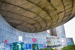 BUZLUDZHA-39 (RAFFI YOUREDJIAN PHOTOGRAPHY) Tags: buzludzha bulgaria spaceship soviet architecture ruin graffiti communist derelict abandoned relic distasteful building monument