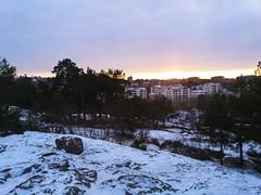 Stockholm (Jelena1) Tags: stockholm stokholm estocolmo winter vinter zima invierno hiver snow sneg sn schnee nieve neige rocks rock roca roches gestein stene bergart sky cloudysky nebo ciel cielo himmel sunset sundown zalazaksunca ocaso coucherdusoleil solnedgng sonnenuntergang tree trees drvo drvece arbre rbol baum trd pine conifer sweden sverige svedska schweden suecia sude canon canon600d canoneos600d canonefs1855mmf3556is