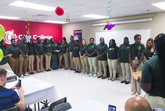 Ambassador Induction Ceremony Summer 2016 (CityCollegeFTL) Tags: congrats ambassadors proud stundents college life pledge gpa bravo pinning ceremony induction fort lauderdale city