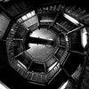 More than 55 steps (daniel_james) Tags: 2016 spandau berlin germany europe canon1022mm stairs citadel zitadelle juliustower juliusturm blackandwhite spiral staircase timber wooden