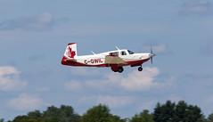 C-GWIL Mooney M20, Oshkosh (wwshack) Tags: airventure2016 eaa eaaairventure kosh m20 mooney osh oshkosh usa unitedstates whittmanregional wisconsin cgwil