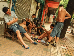 card game ximenkou copy (anwoody) Tags: done china guangzhou streetlife