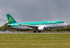 2005 Airbus A320-214 EI-DEN 'St Kieran' - Aer Lingus - Manchester Airport 2016 (anorakin) Tags: 2005 airbus a320 eiden stkieran aerlingus manchesterairport 2016