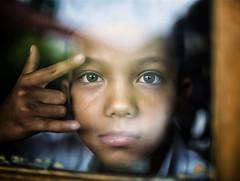Indonesia (mokyphotography) Tags: indonesia giava people persone portrait ritratto eyes occhi window finestra boy ragazzo school scuola