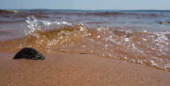 "In a New Light: Apostle Islands - Jourdyn, 15 - ""Shoreline Waves"""
