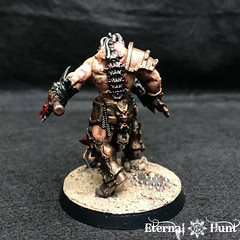 Angron Thal'Kr, Lord of the Red Sands (7) (KrautScientist) Tags: 30k horusheresy worldeaters gladiator conversion kitbash angron primarch lord red sands