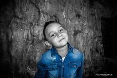 Little But Badass (Aurorasogna Mila) Tags: kid boy child bimbo bambino colourpop bw effect reflex sony alpha290 aurorasogna flickr portraits portrait ritratto primopiano jeans