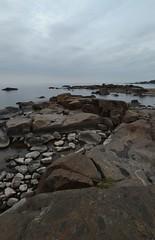 storsand, cliffs, rocks and water (Mika Lehtinen) Tags: storsand rocks stone stones water sea autumn softsea longexposure time soft smoothexposure nikon d600 sigma