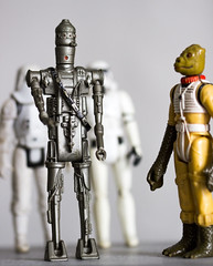 IG-88 and Bosk (IFM Photographic) Tags: img2684a canon 600d sigma105mmf28exdgmacroos sigma105mm sigma 105mm f28 ex dg macro os stilllife toys starwars figures robot android droid theempirestrikesback ig88 iggy bountyhunter stomtrooper snowtrooper bosk