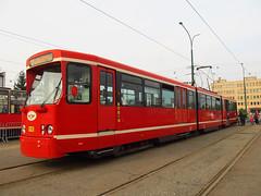Duewag Pt, #910, Tramwaje lskie (transport131) Tags: tram tramwaj bdzin t kzk gop duewag pt zajezdnia depot