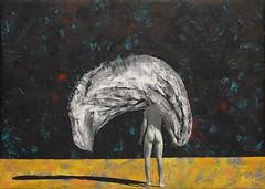 """Marry the night"" 70/50 acrylic/vinyl/polygraphy/varnish 2015 #saatchi #art #back #night #painting #mixedmedia #available (affricanezz) Tags: available mixedmedia painting back art saatchi night"