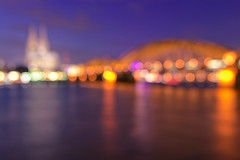 Cologne Bokeh Lights (_flowtation) Tags: longexposure bridge winter light sky reflection church water night reflections river lights nikon cathedral nacht bokeh dom kirche bluehour fluss rhine rhein lichter rhineriver klnerdom blauestunde spiegelungen hohenzollernbrcke hohenzollernbridge bokehlicious cathedralkln nikon2470mm nikon247028 nikon2470mmf28 d7000 bokeeeeeeh nikond7000 cathedralcolone