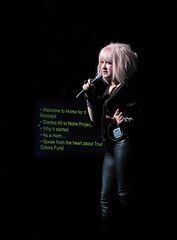 Cyndi Lauper Beacon Theatre 2012-12-08 (Houari B.) Tags: cyndilauper beacontheatre homefortheholidays truecolorsfund