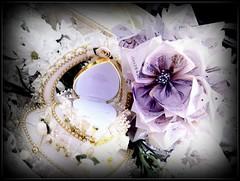 ring with flower monies (erisha85) Tags: wedding flower set engagement gift present cheap monies affordable gubahan bougette