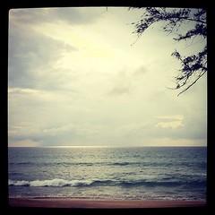 ฟ้าหลังฝน ณ หาดทรายแก้ว #phuket ☔⚡⛅