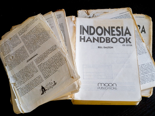 travel indonesia books backpacking guide indonesian