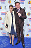 The British Comedy Awards 2012 held at the Fountain Studios - Lee Mack and guest.